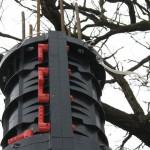 Полимерная опалубка колонн Geotub из ABS-пластика