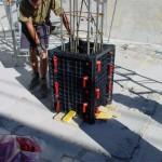 полимерная опалубка колонн