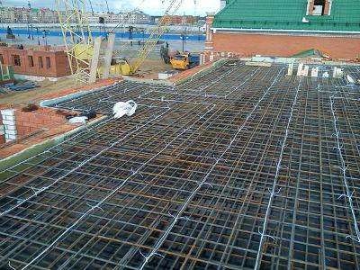 Укладка бетона зимой