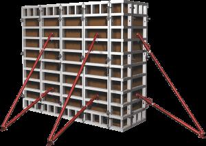 вертикальная опалубка стен