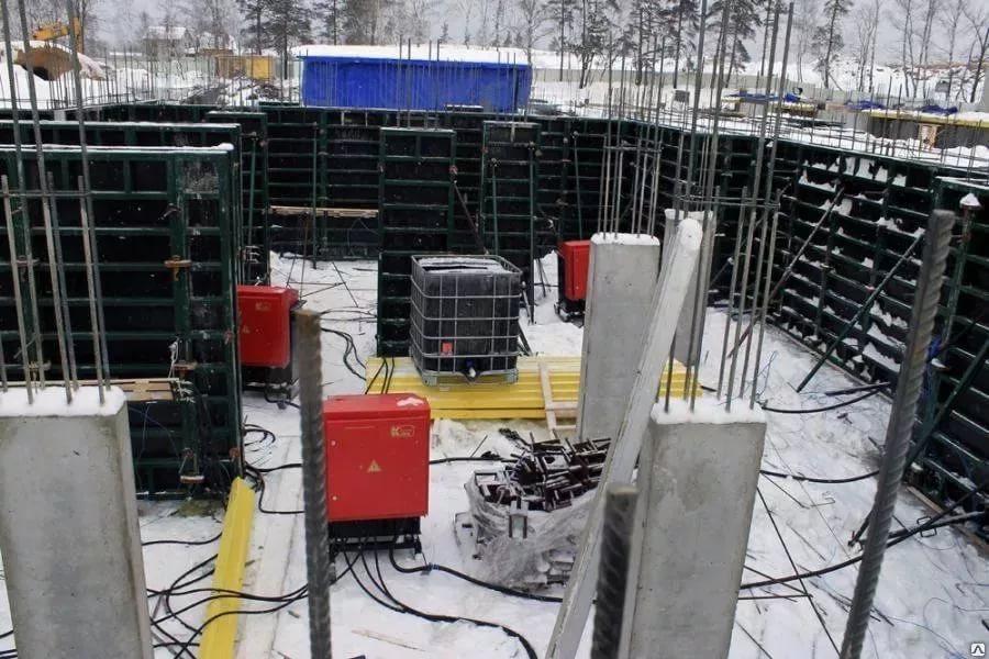 прогрев бетона тепловыми пушками технология