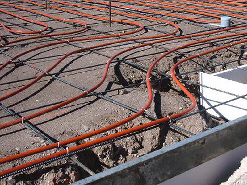 прогрев бетона проводом